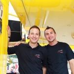 Patrik Küllertz und Mathias Flöck