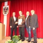 Ehrenzeichen Gold: Karl Knoflach