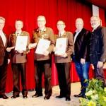 v.l.: BGM Dietmar Wallner, Rudolf Schiessl, Karl Knoflach, Wolfgang Haberditz, VIZE Andreas Lackner, VIZE Erich Rainer