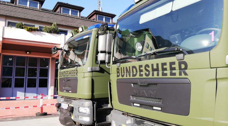 17.10.2018 // Rette- und Bergezug der ABC-Abwehrkompanie übt im Feuerwehrhaus
