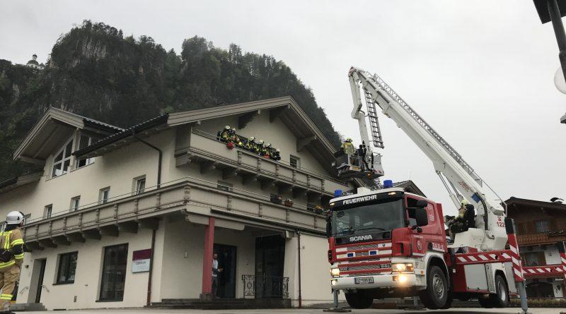 20.05.2019 // Übung mit Hubsteiger / Strass i. Zillertal